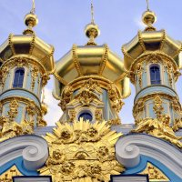 Декор Дворцовой церкви Екатерининского дворца в Царском Селе  / 1 / :: Сергей