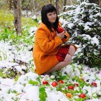 Яблоки на снегу :: Ильдар Шангараев