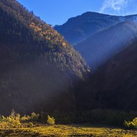 Свет в Улагане :: Владимир Колесников