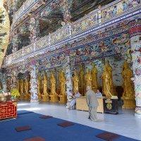 Пагода Линь Фуок в Далате.Вьетнам. :: Татьяна Калинкина