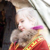 девочка с Севера :: Олег Лукьянов