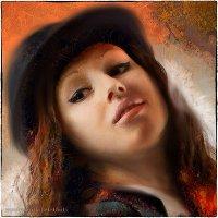 Девушка в шляпе :: Станислав Лебединский