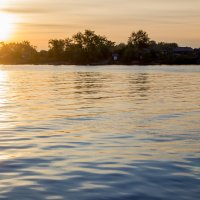 Закат на Северной Двине. :: Ирина Кузина