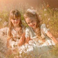 Подружки на траве :: Вадим Белов