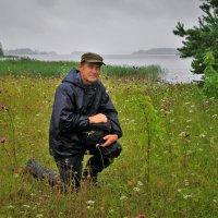 Портрет на фоне Шексны-реки :: Валерий Талашов