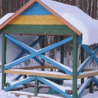 пришла весна и одеяло с крыш упало... :: Polina Pavliuk