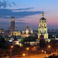 Новоспасский монастырь или Москва сегодня :: Евгений Голубев