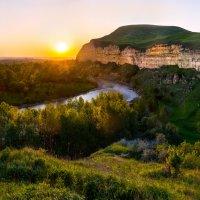 Река Кубань - балка Яман-Джалга. :: Фёдор. Лашков