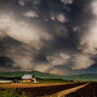 Свежая пашня в ожиданье дождя :: Игорь Лариков