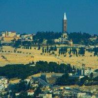 Иерусалим, вид на Масличную гору. :: Игорь Герман