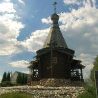 часовня при источнике Лужецкого монастыря :: Екатерррина Полунина