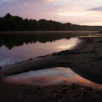 Закаты на Сухой протоке. Небо под ногами :: Алексей (АСкет) Степанов