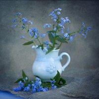 Голубая мечта. :: ЛЮБОВЬ ВОЛГИНА