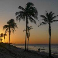 Вечера на берегу Атлантики близ Гаваны (Куба) :: Юрий Поляков