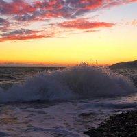 Вечер....Черное море.... :: Геннадий Ячменев