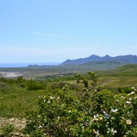 Вид на Карадаг с горы Климентьево :: Виктор Шандыбин