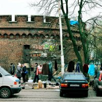 Рынок у форта Врангель :: Андрей Николаевич Незнанов