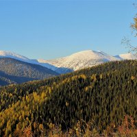 Сентябрьские вершины :: Сергей Чиняев