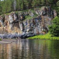 У скалы... :: Альмира Юсупова
