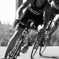 На велотрассе... Этап кубка Европы по триатлону в ПЕНЗЕ. :: Валерия  Полещикова