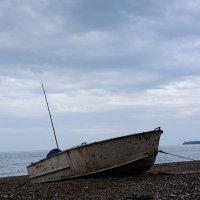 Утро в рыбацком поселке :: Лариса Савченко