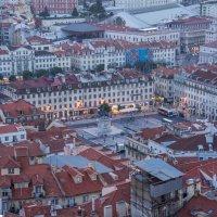 Площадь Фигейра в Лиссабоне :: Константин Шабалин