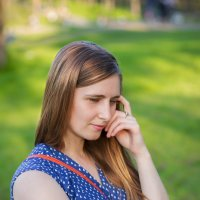 Портрет в парке :: Павел Шалаев
