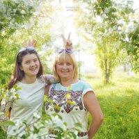 Мама с дочкой) :: Olga Rosenberg