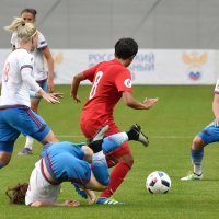 Женский футбол :: Светлана Яковлева