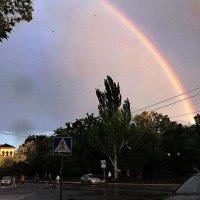 радуга над городом :: Лилия Дубчак