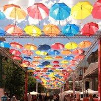Парящие зонтики и тени :: Вера Моисеева