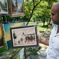 Давид и его работа :: Artem Zelenyuk