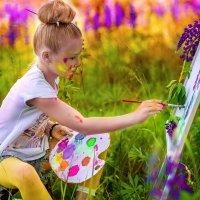 Рисую лето :: Наталья Сидорович