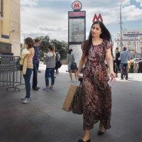 Королева метро :: Алексей Окунеев