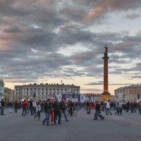 На Дворцовой Площади :: Александр Кислицын