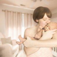 Мама и малыш :: Анна Кокарева