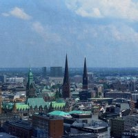Гамбург с высоты 105,3 м :: Nina Yudicheva