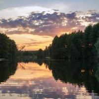 Летний вечер над Сновом. :: Андрий Майковский