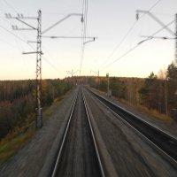 Романтика железной дороги :: Юрий