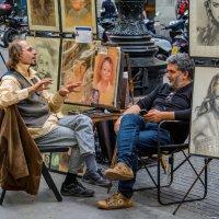 Как художник, художнику... :: Константин Шабалин
