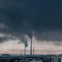 ТЭЦ помогает делать облака :: Виктория Рехемяе