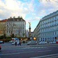 Памятник бургомистру Либенбергу в Вене :: Денис Кораблёв