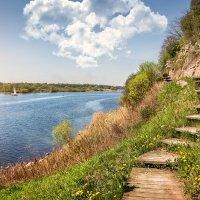 Великие просторы Великой реки :: Юлия Батурина
