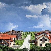 Городской пейзаж :: Валерий Дворников