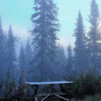Первый морозный утренник :: Сергей Чиняев