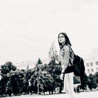Девушка в городе. Фотограф в Белгороде. :: Руслан Кокорев