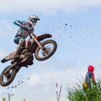 Flug auf dem Motorrad :: polubedov mihail