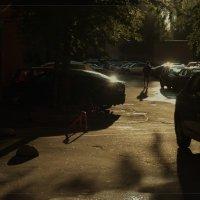 Во дворе..08.06.2016 Спб :: Валентина Потулова
