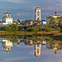 Монастырь на реке Тара :: Sergey Romanov