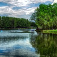 Смотрю в озера синие... :: Лара ***